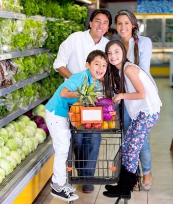 Supermarktgezin AfvallenNijmegen