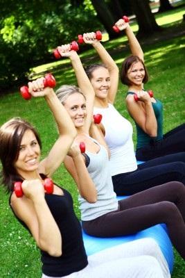 Sportende dames AfvallenNijmegen
